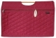YZ1652-Wooden Handle Tote (Maroon)
