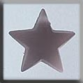 12049 - Large Domed Star Matte Rosaline 14mm - 1 per pkg