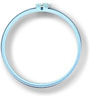 "Embroidery Hoop 8"" Blue"
