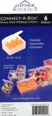 4202-Connect-A-Box Med, Bead holder - Click Image to Close