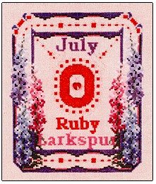 Ruby & Larkspur - July - Click Image to Close