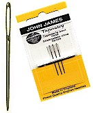 JG19822-Gold Tapestry Needles, size 22 - Click Image to Close