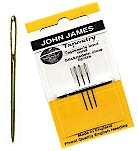 JG19828-Gold Tapestry Needles, size 28