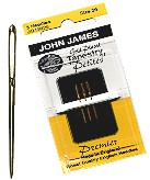 Needles-Gold tapestry petite, Size 24 - 3Pack
