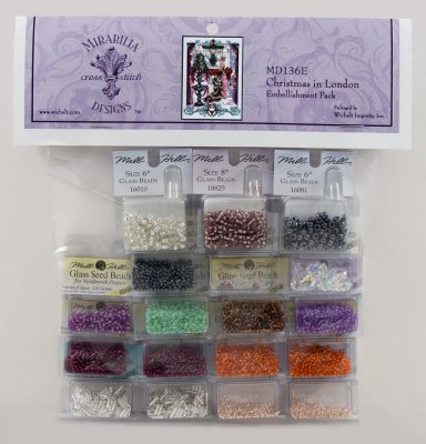 Christmas in London Embellishment Pack-MD136E - Click Image to Close