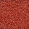 MH62013 - Red Red - Frosted Seed Beads