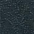 MH62014 - Black - Frosted Seed Beads