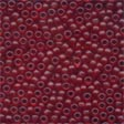 MH62032 - Cranberry - Frosted Seed Beads
