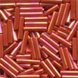 MH82050 - Red Rainbow - Bugle Beads (MED)