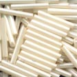 MH90123 - Cream - Bugle Beads (LRG)