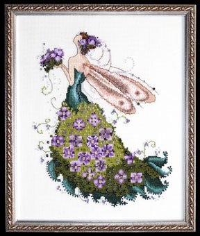 NC130-Lilac-Spring Garden-Pixie Couture Collection - Click Image to Close