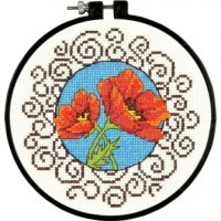 "Poppies (KIT)-6"" Round 14 Count"