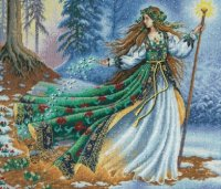 "Woodland Enchantress (KIT)-14""X12"" 16 Count"