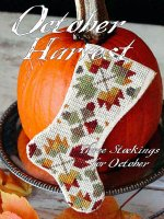 October Harvest Christmas stocking