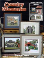 Country Memories, barn and tractors