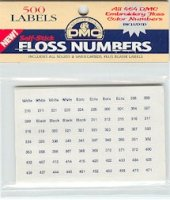 6103-DMC Floss Labels