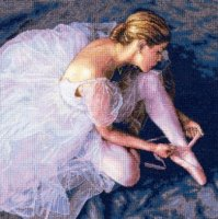 "Ballerina Beauty (KIT)-14""X14"" 18 Count"