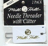 Needle Threader & Cutter-Mill Hill